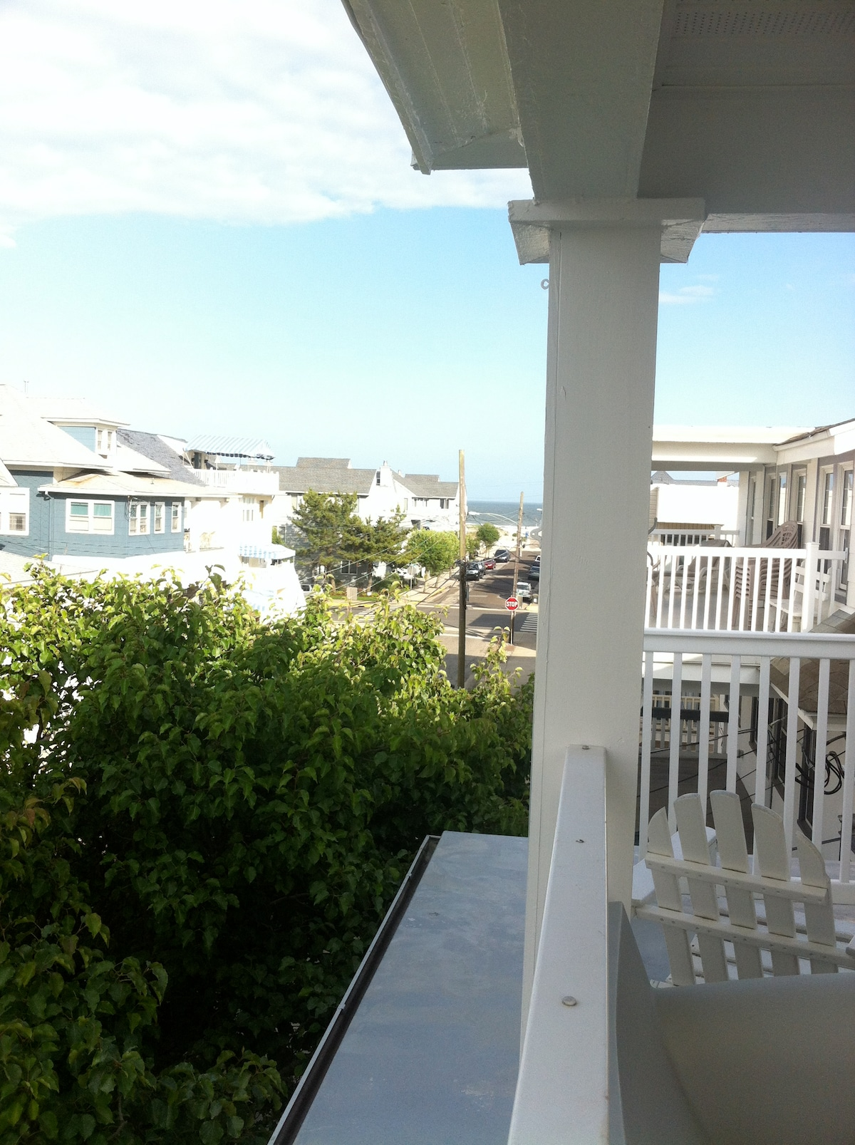ocean view off the front porch