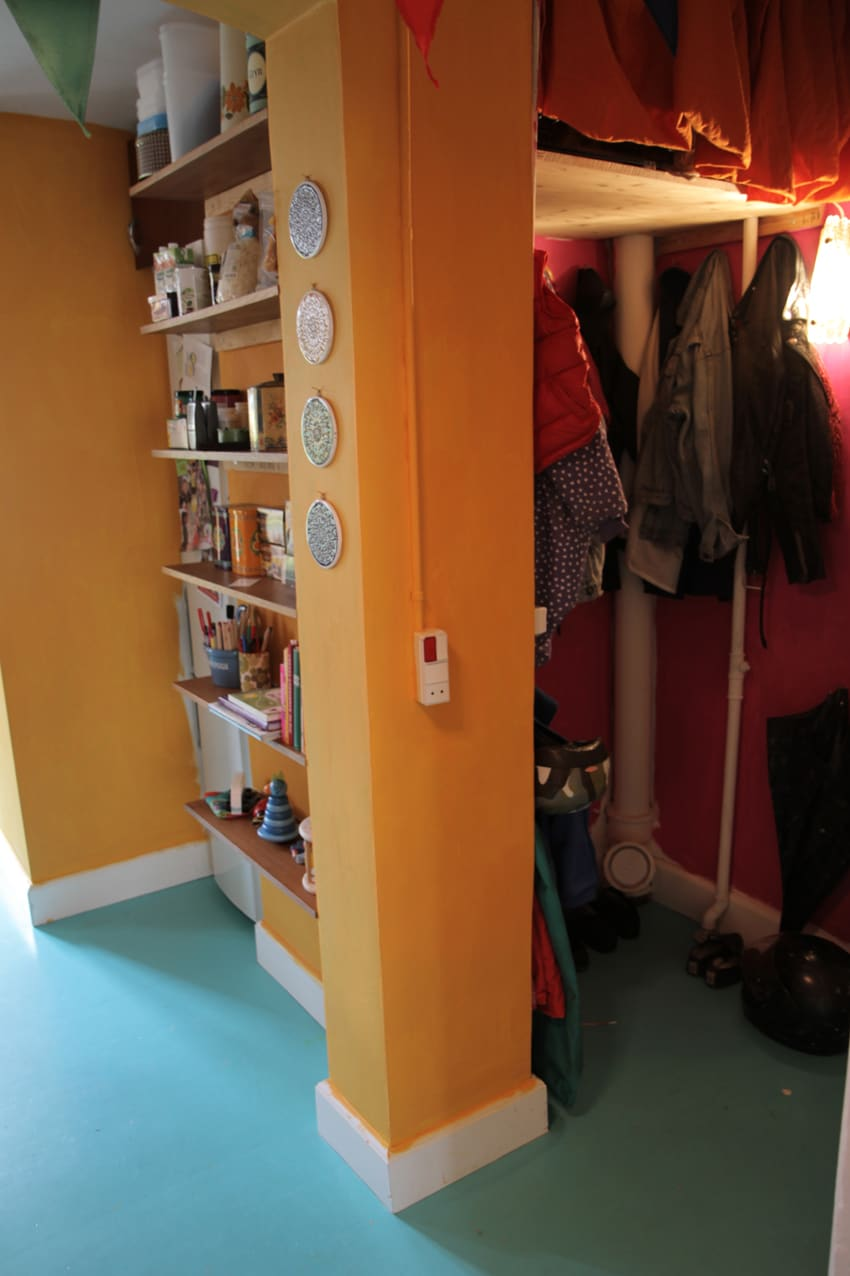 Little wardrobe (entrance to Narnia)