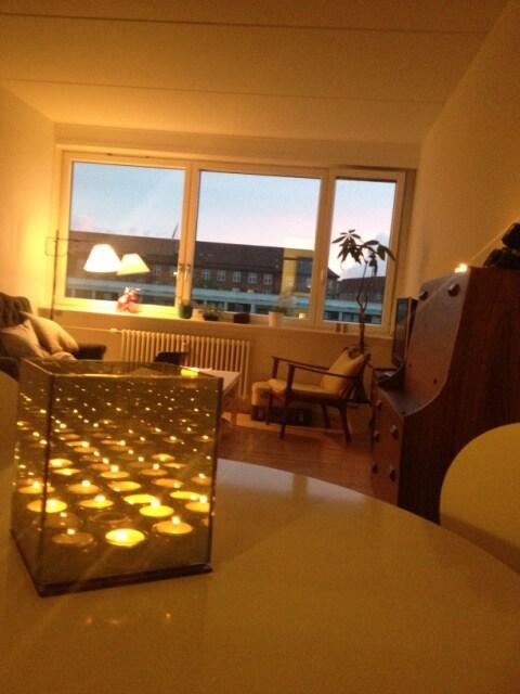 The lovely light livingroom area