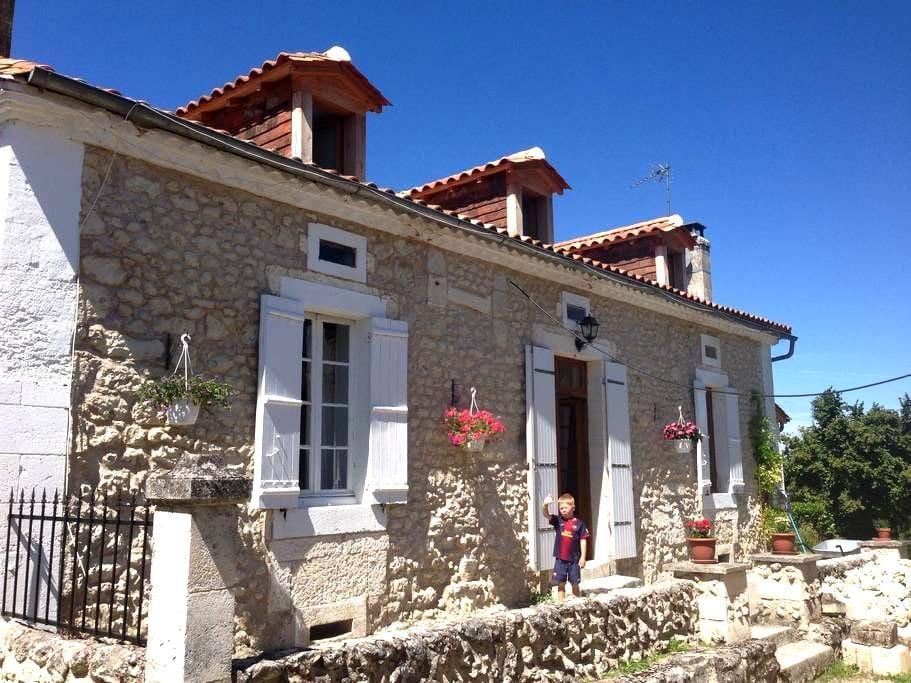 Lovely stone cottage in hamlet - Saint-Méard-de-Drône - House