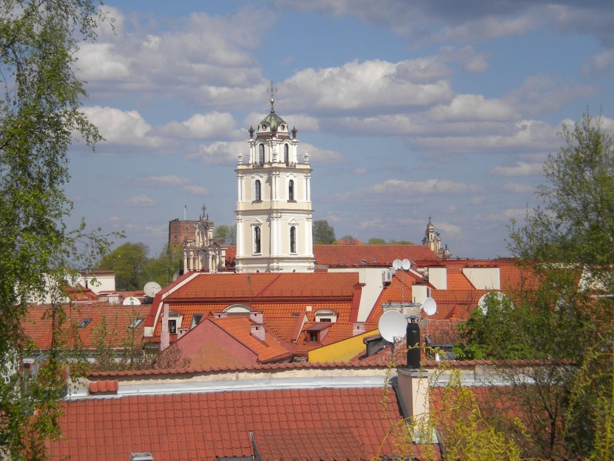 Vilnius Old Town, amazing views!
