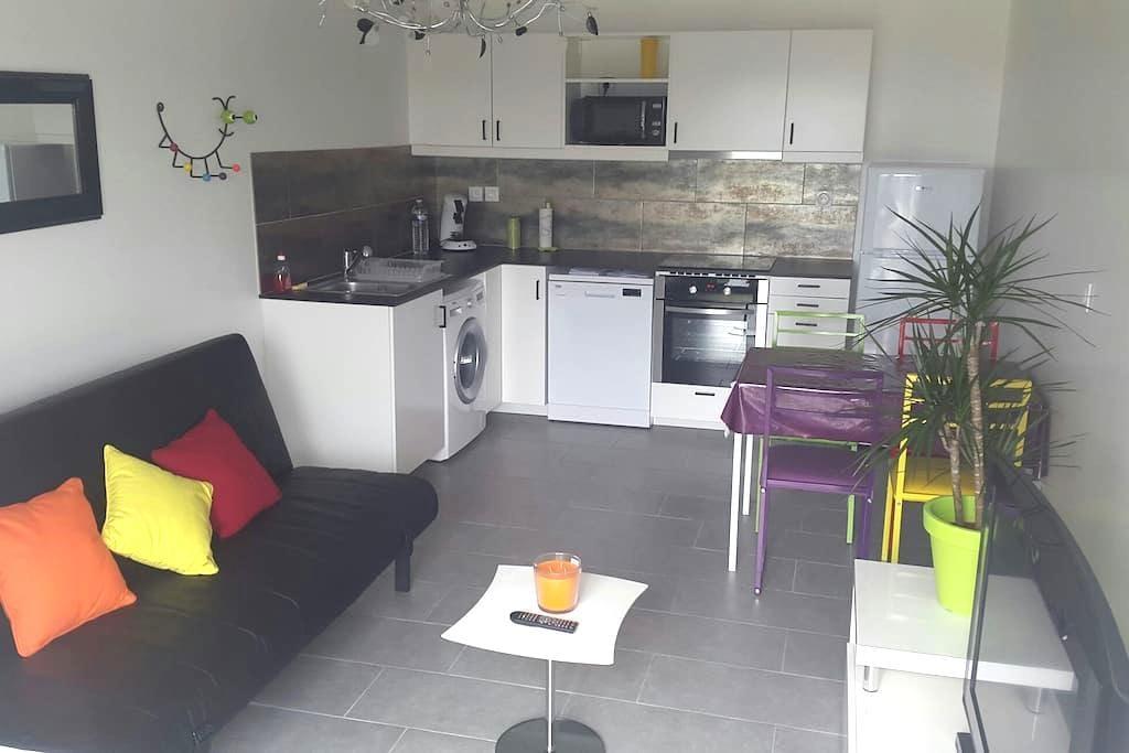 Bel appart neuf 37 m2 tout confort - Bellegarde - Apartamento