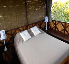 Full bed in Gazebo