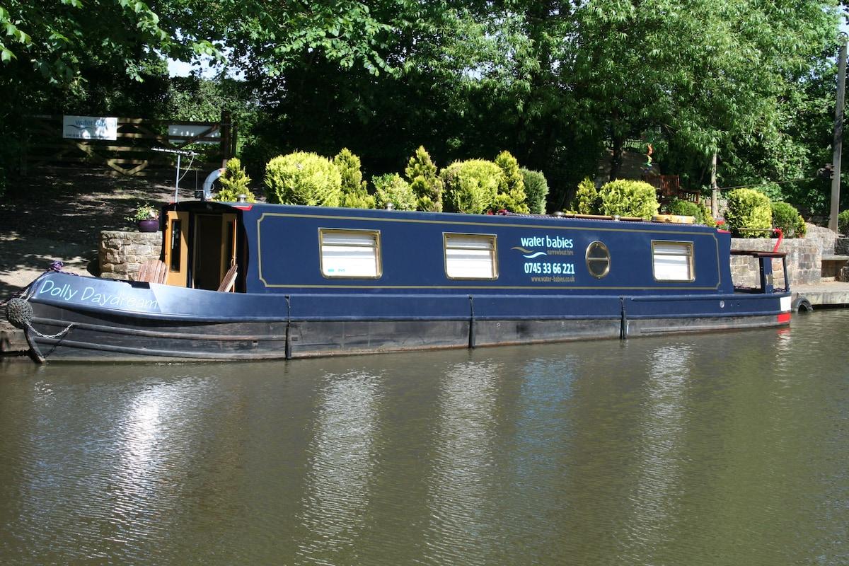 Waterbabies Canal Narrow boat hire.