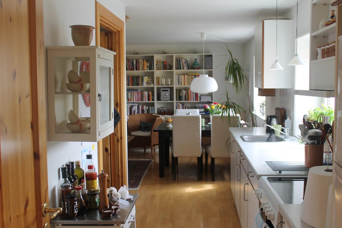Cosy apartment in nice quiet area.