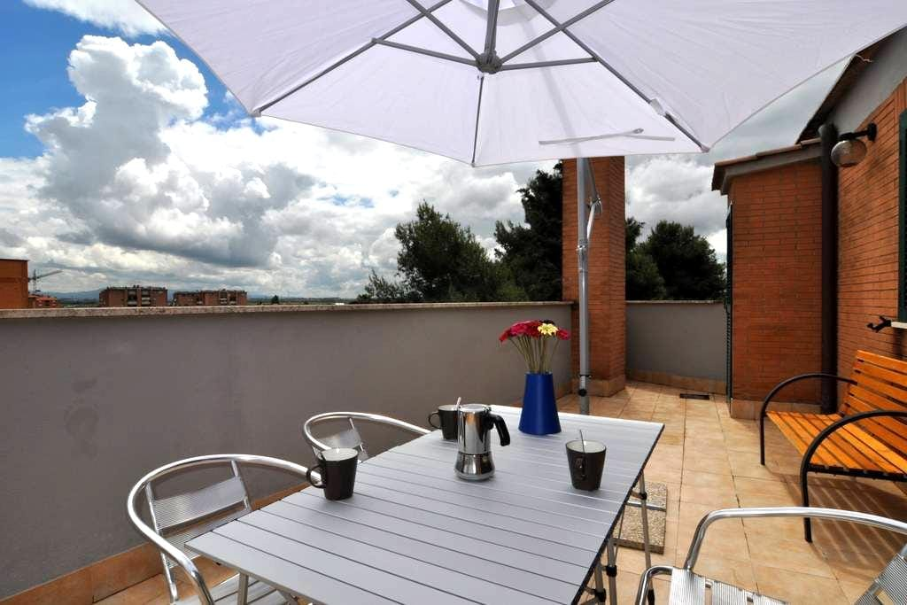 Flatinrome Fiera 5 - Free Fast WiFi - roma - Appartement