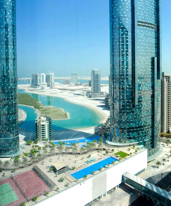 Exclusive and modern 1 BR flat with swimming pools - Abu Dhabi - Apartment
