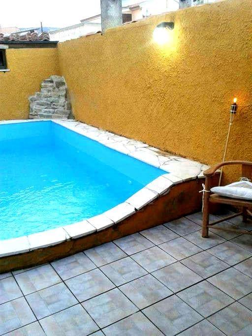 Casa vacanze Barumini con piscina - Barumini - Bed & Breakfast