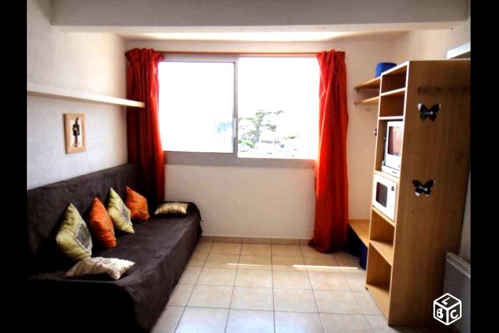 Studio Mimizan à 100m de la plage - Mimizan - Appartement