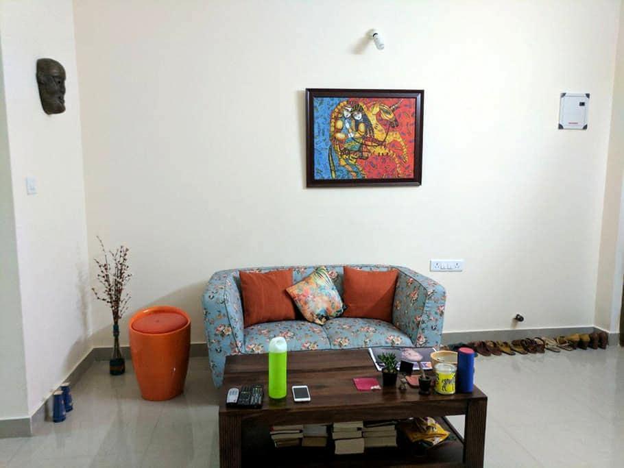 Lovely cozy abode in bellandur - Bangalore - Appartement