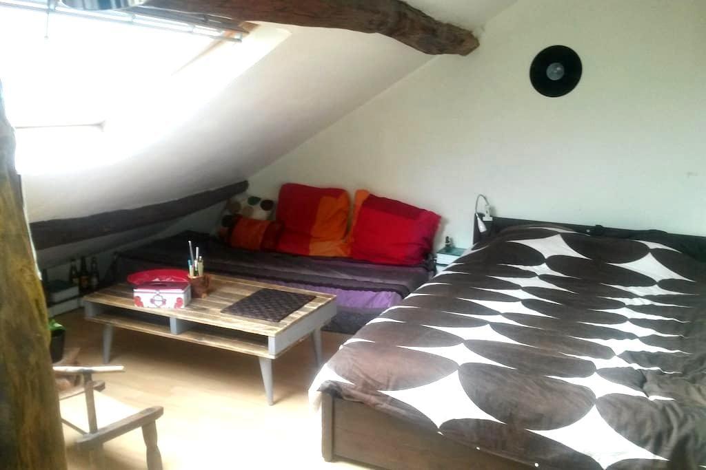 Chambre de caractère ROUEN Centre - Rouen - Apartamento