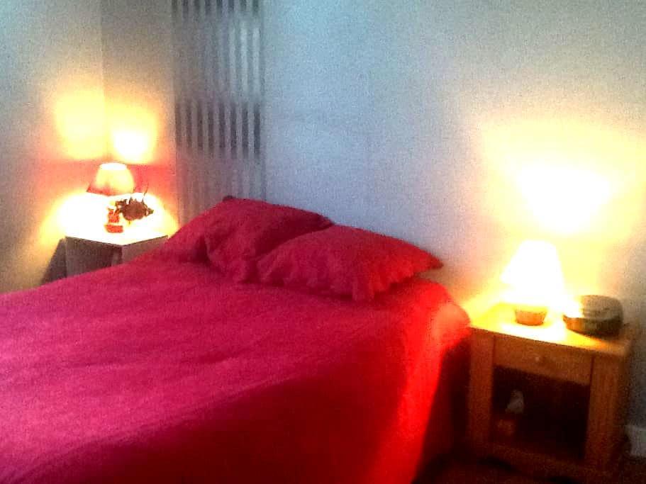 Chambre calme et spacieuse - Mios - ที่พักพร้อมอาหารเช้า
