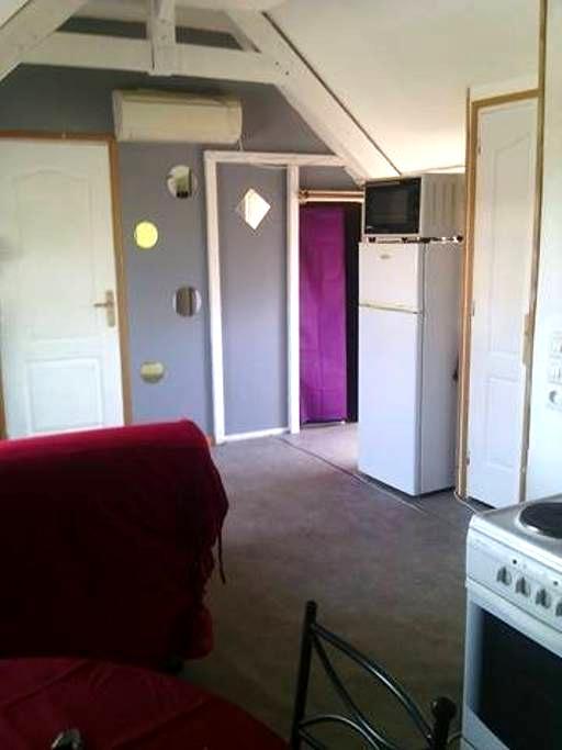 type 2 dans maison de charme 1km de la plage - Dieppe - Apartment