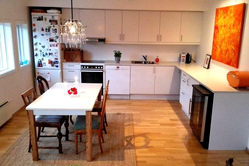 Asker - beautiful surroundings, quit neighborhod - Asker - Apartment