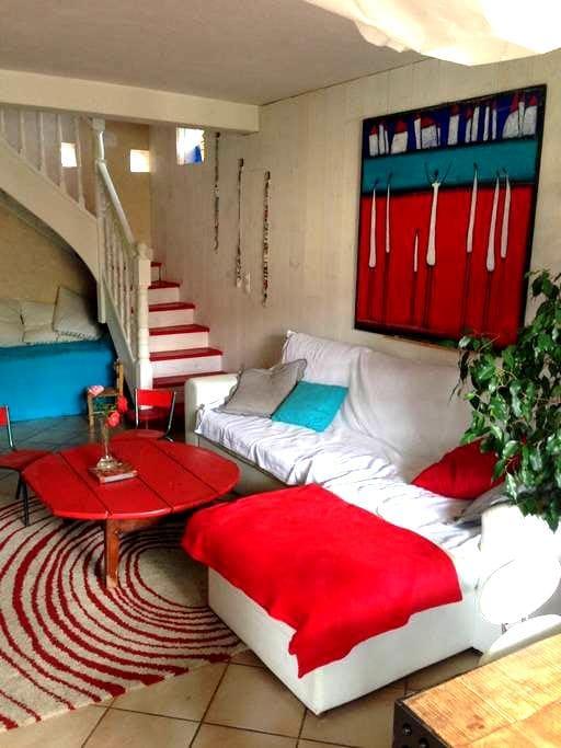 Chambre à Millau dans maison+jardin - Millau - House