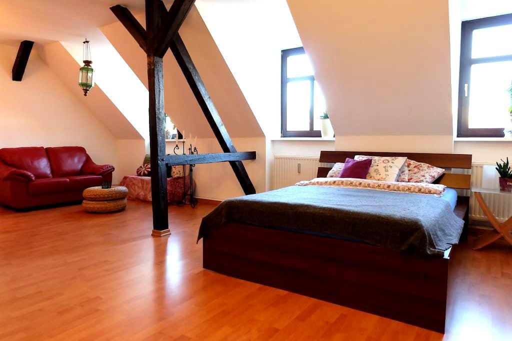 Zimmer mit Wohlfühlfaktor - Lipsk - Apartament