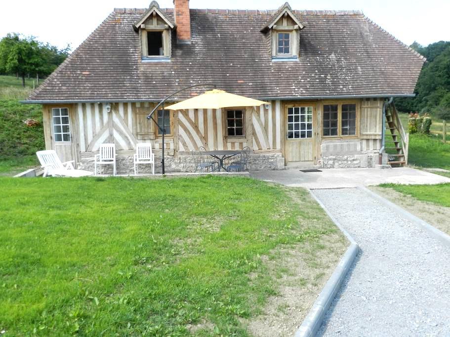 Maison en campagne proche Deauville - Heuland