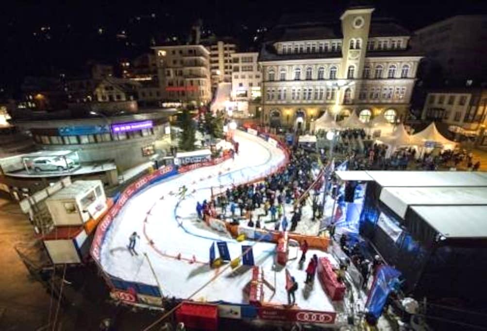 Im Herzen von St. Moritz - Sankt Moritz - Aamiaismajoitus