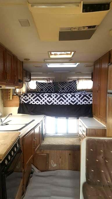 Camping on a RV on a Horse Ranch - San Bernardino