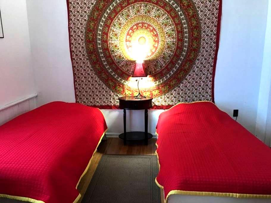 Cozy private room near Princeton New Brunswick NYC - Franklin Township - Hus