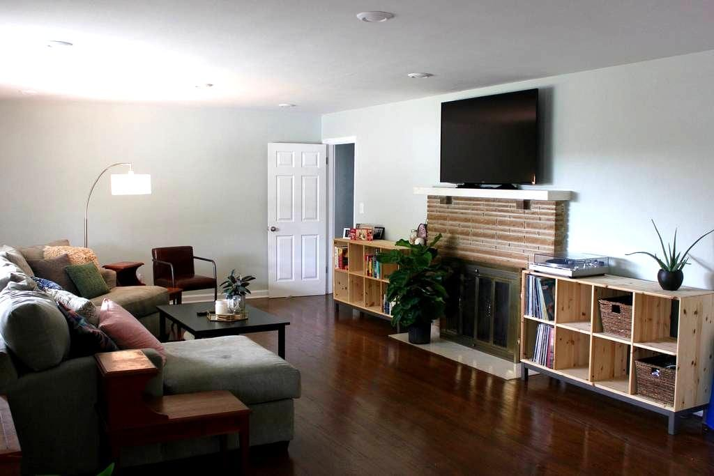 Beautiful Rooms Near Downtown - Chattanooga - Ház