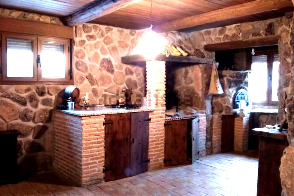Casa rural con encanto en Guadalajara - Galápagos - Rumah