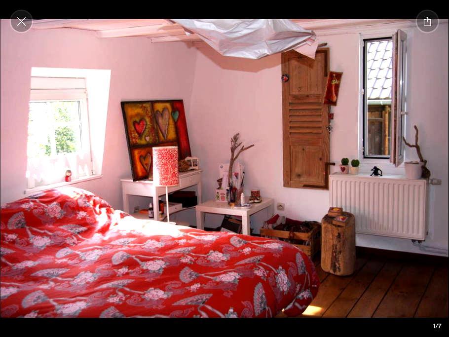 Une chambre dans une maison typique - Reichstett