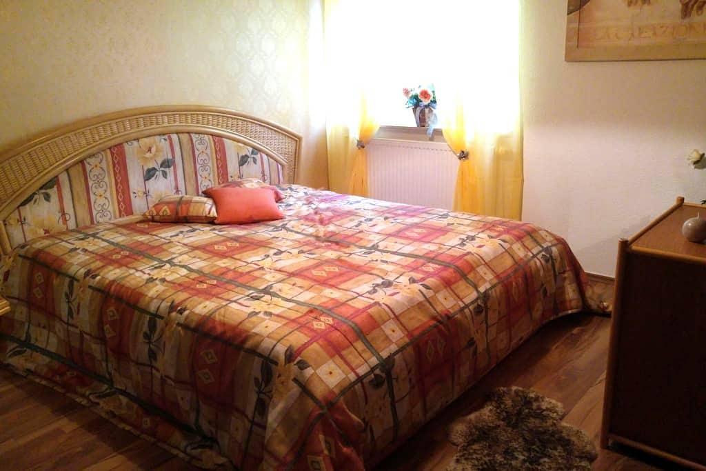 Gemütliche Wohnung in Bad Dueben - Bad Düben - Leilighet