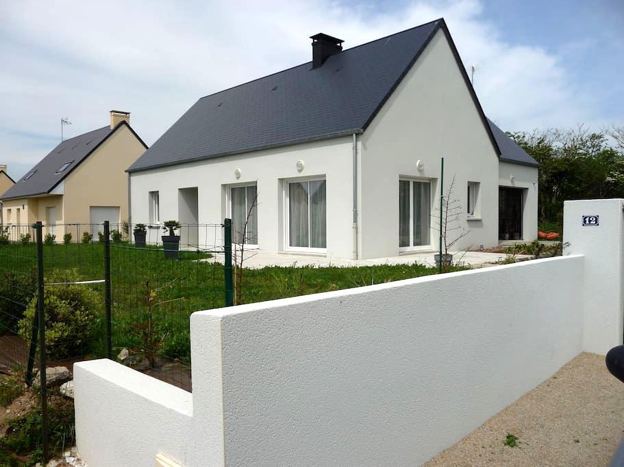 une maison neuve agréable  proche du centre - Portbail