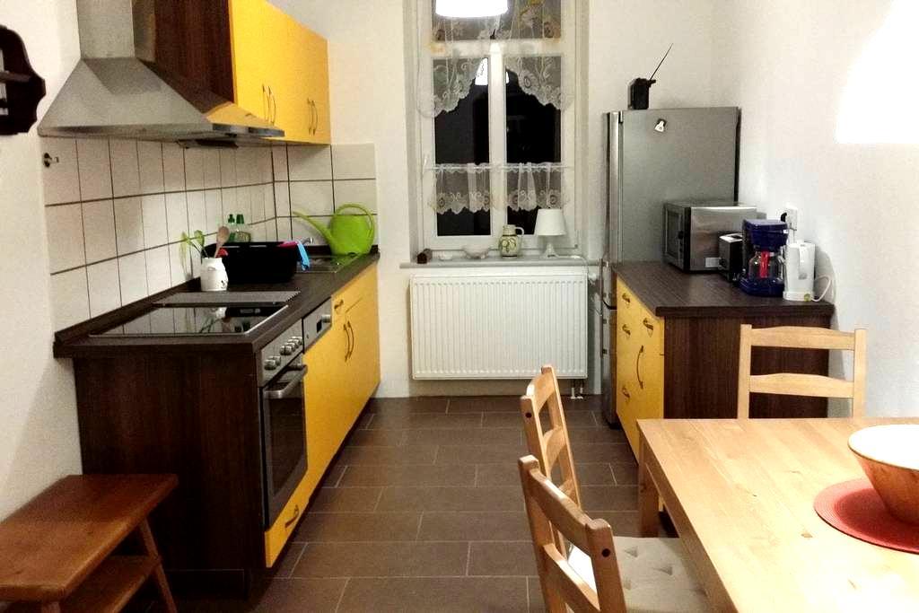 2 Zimmer Ferienwohnung Kü, Bad,60qm - Chemnitz - Apartmen