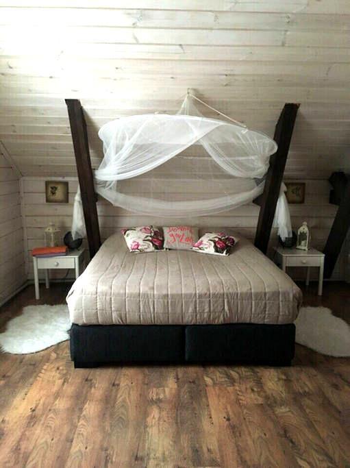 Уютная мансарда с двумя спальнями - Сортавала - Lägenhet