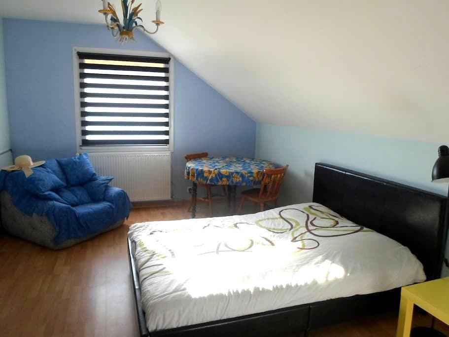 Chambre chez l'habitant pour 2/3 personnes - Saint-Bonnet-en-Champsaur - บ้าน