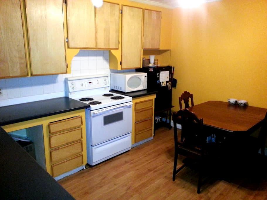 Bright bedroom downtown - Hamilton - Apartment