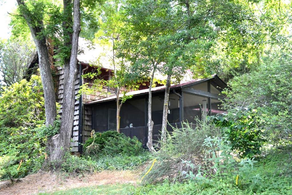 Retreat to your private arboretum near Chapel Hill - Chapel Hill - Rumah