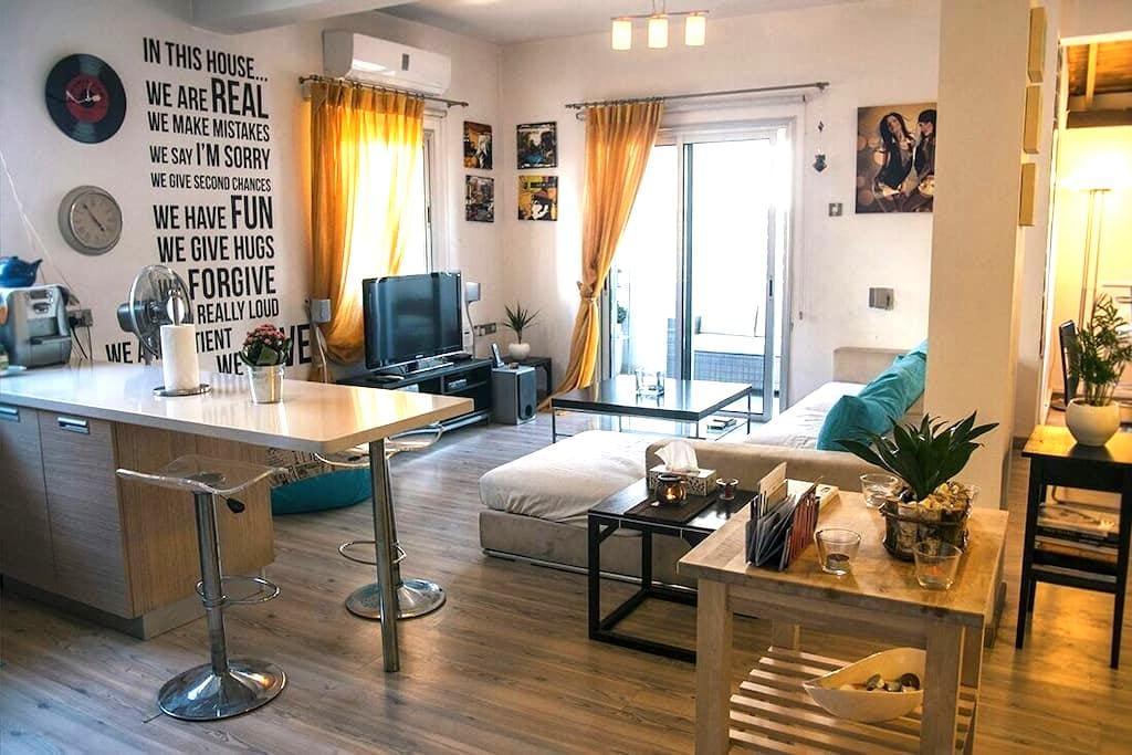 Yiolanda's 2BR Cent. Close 2 The Beach - Larnaca - Apartment