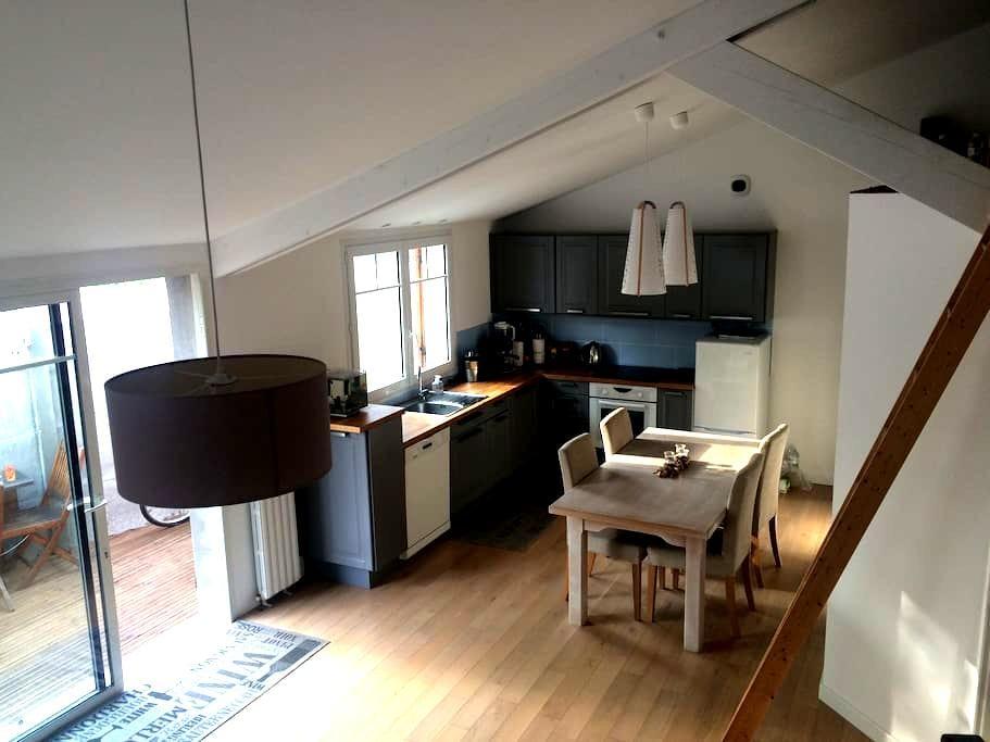 Chambre à quelques pas de la plage - Arcachon - Maison