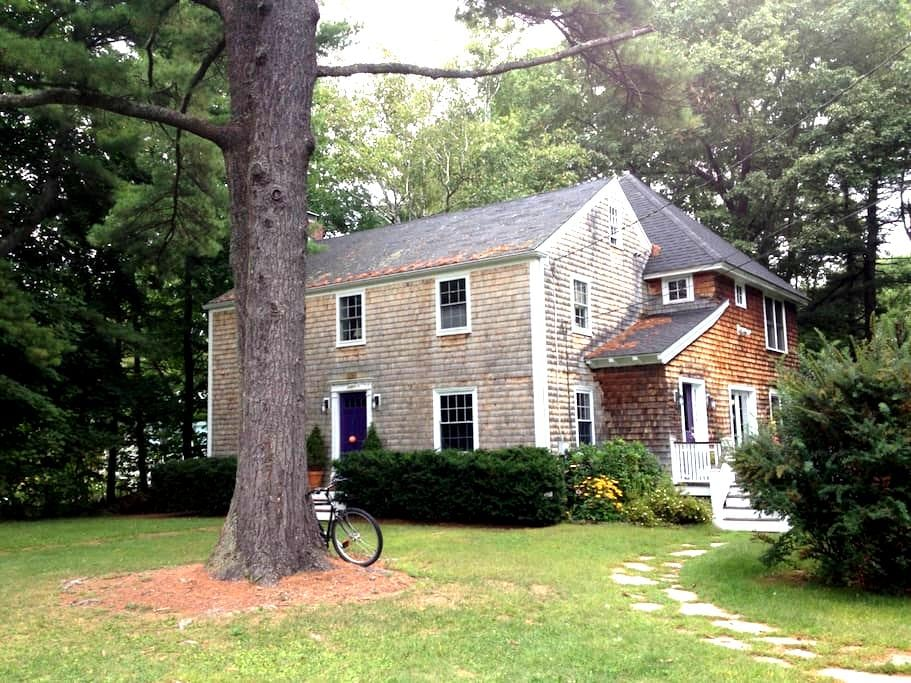 Peaceful Sanctuary - Oceanfront Home on Tidal Cove - Falmouth - Hus