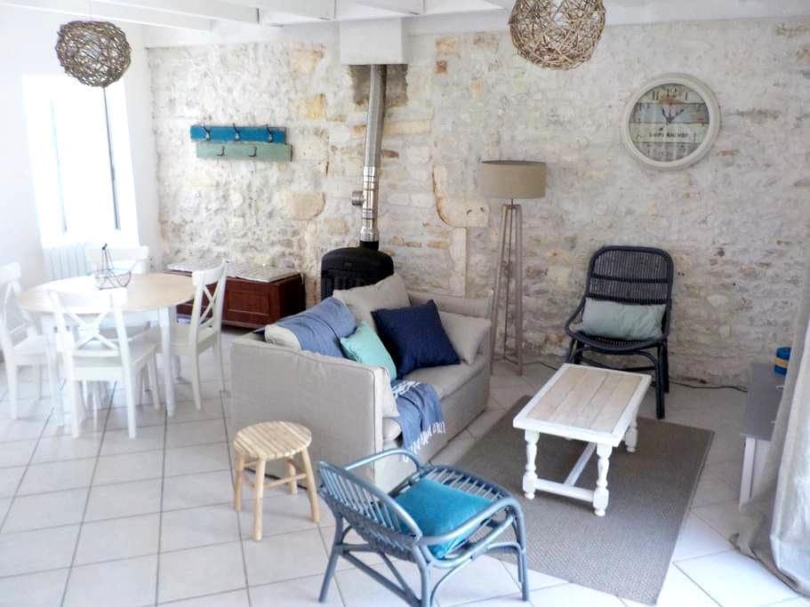 Maison de charme au pied de l'île d'Oléron - Bourcefranc-le-Chapus - Appartement