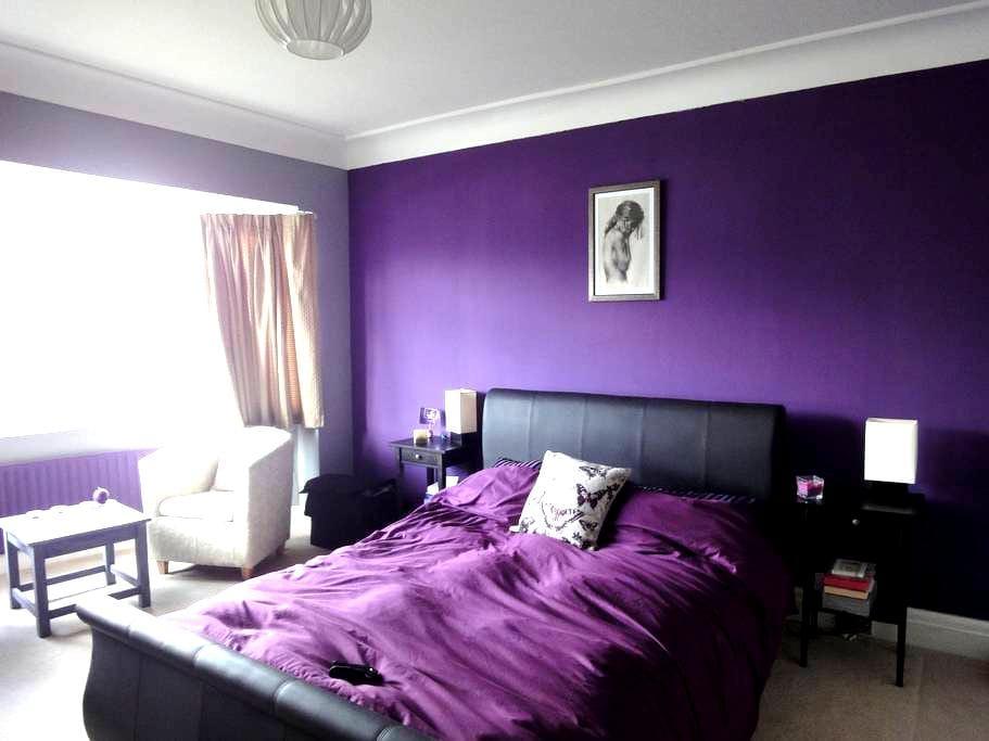 King Size Bed & Own Bathroom Leeds - Leeds - Huis