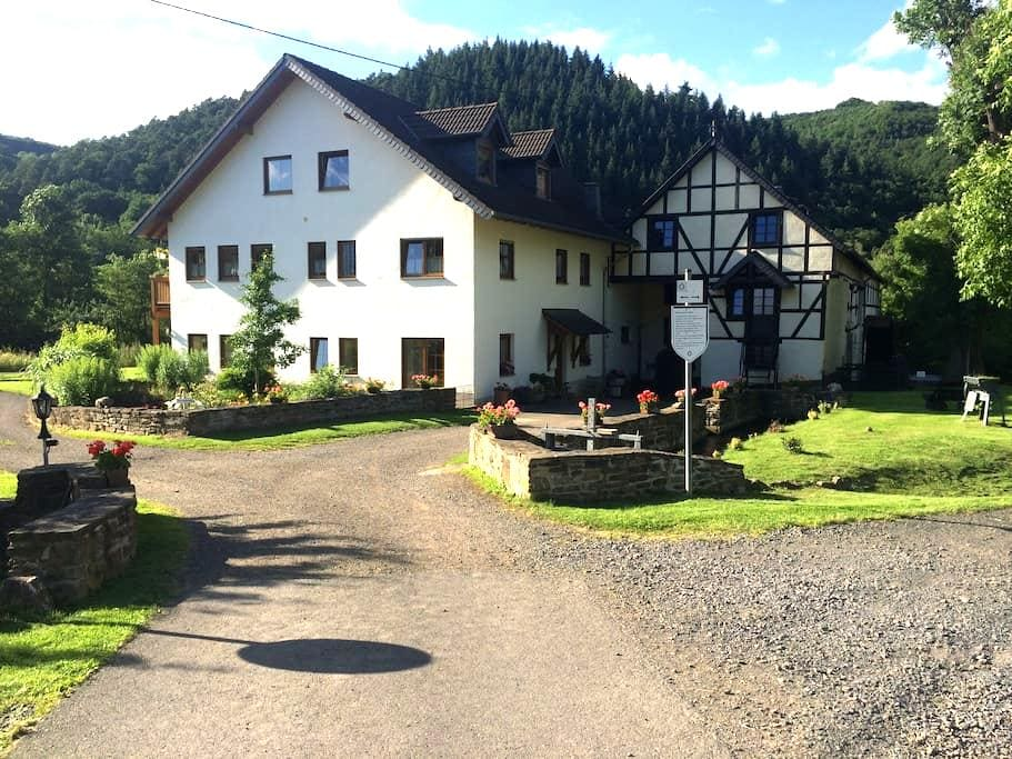"""Ferienwohnung """"Hahnensteinermühle"""" - Insul - Apartament"""