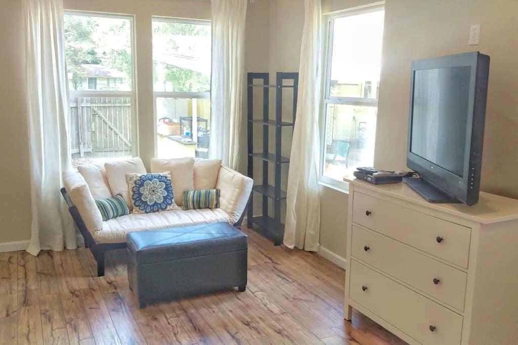 Charming Mid-city Studio Cottage - Baton Rouge - Hus