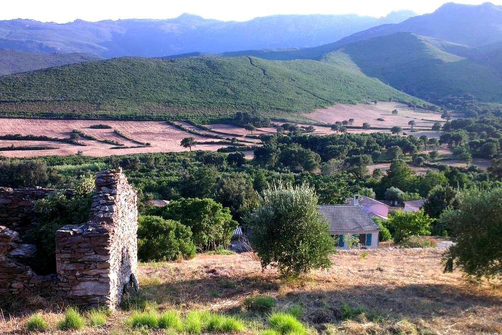 La Corse entre plage et rivière - Pietracorbara