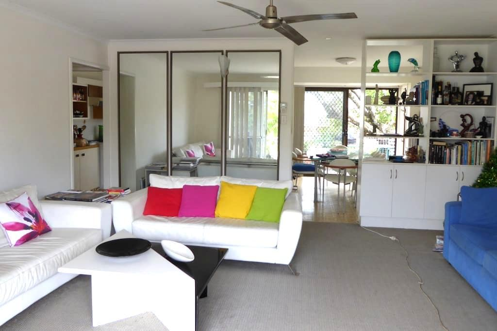 80 m. to beach, shop, bus, cafe's - Currumbin - Appartamento