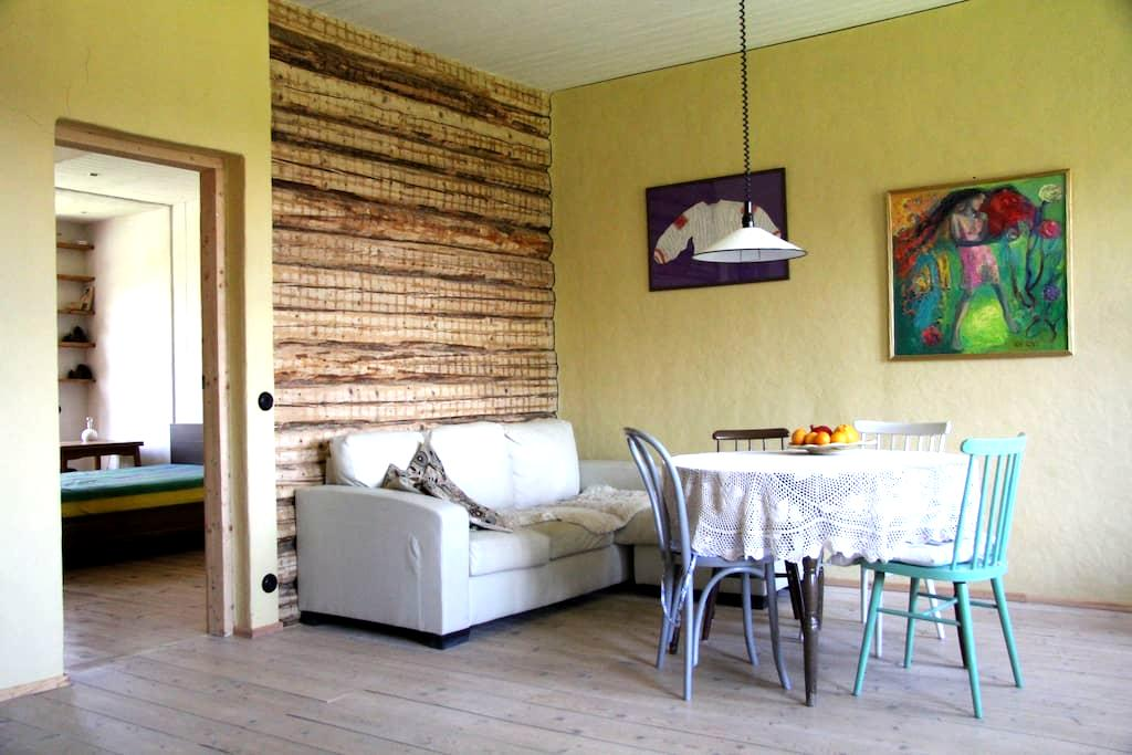 Spacious apartment with a garden - Viljandi