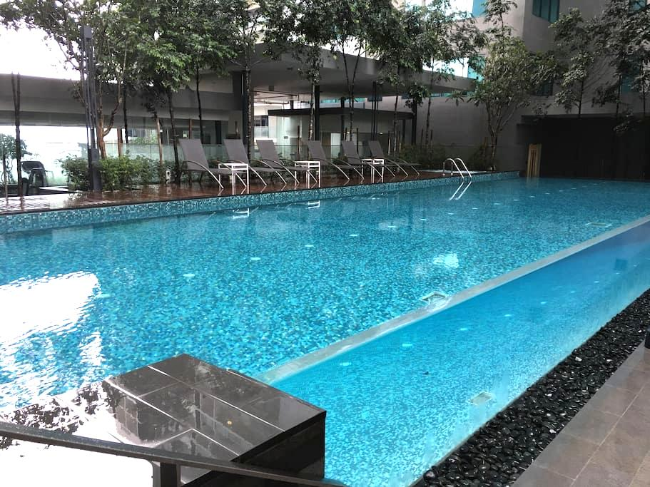 Studio near KLCC LRT+Free WiFi,4pax - Kuala Lumpur - Apartamento