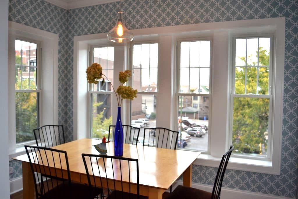 Luxury New 2 bedroom apt. in Wrigleyville Lakeview - Chicago - Departamento