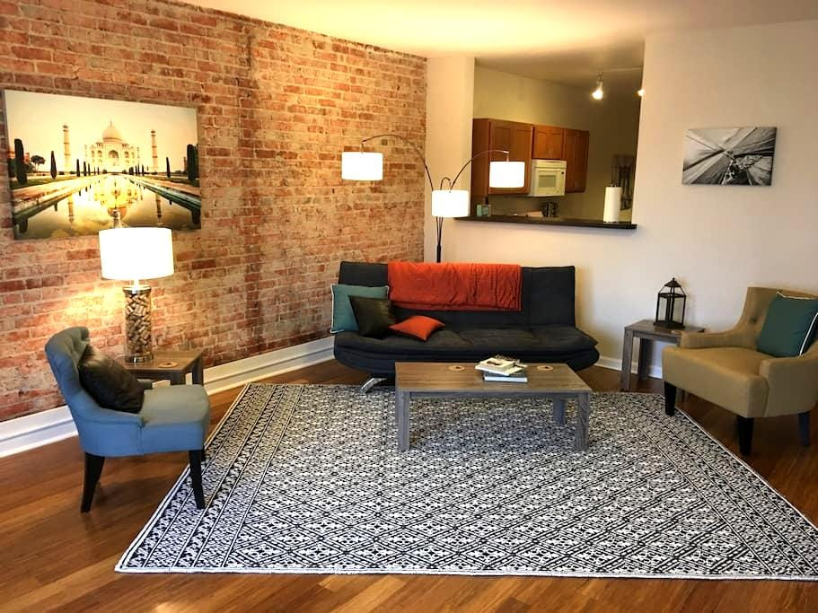 City center loft living - Spokane - Condomínio