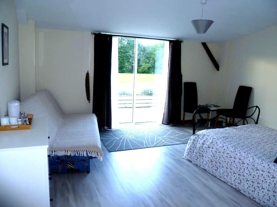 Ty Dour Bras chambres d'hôtes Room1 - La Feuillée - ที่พักพร้อมอาหารเช้า
