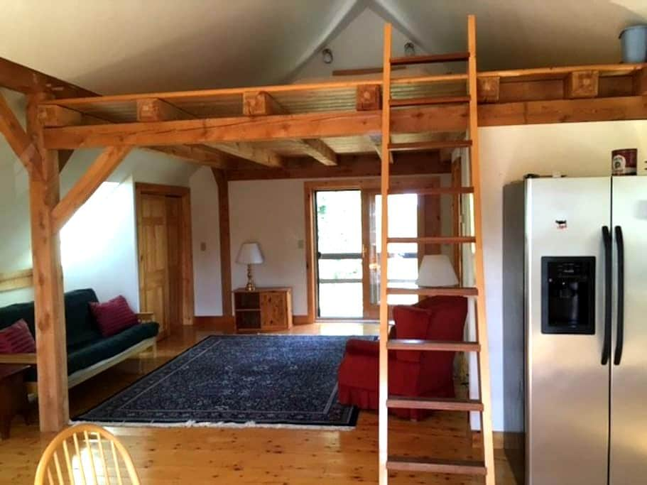 Whistle Hill Farm studio apartment - New Haven