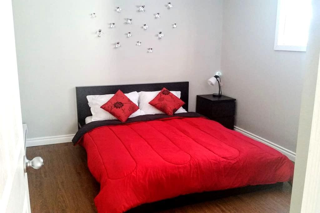 Bright&Cozy Private Suite, 10 min to Airport (YYC) - Calgary - Ev